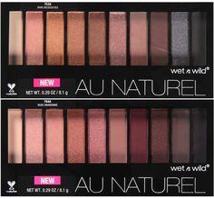 Wet n Wild Au Naturel Eyeshadow Palettes