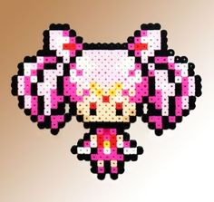 Sailor Moon Inspired 8 Bit Character - Sailor Chibi Moon via eb.perler. Click on the image to see more!