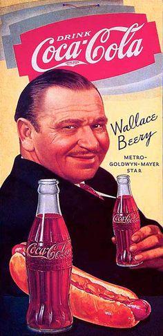 Afbeeldingsresultaat voor coca cola ads vintage