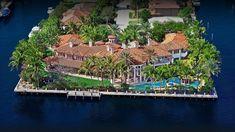Majestic Grand Mediterranean Style Waterfront Residence Offers Luxury Li...
