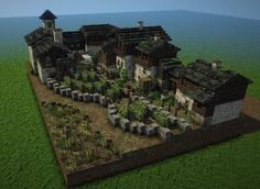 Plans Minecraft, Minecraft Building Guide, Minecraft Farm, Minecraft Castle, Minecraft Survival, Minecraft Construction, Minecraft Blueprints, Minecraft Crafts, Building Games