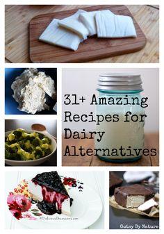 31+ Recipes for Dairy Alternatives - Gutsy By Nature #dairyfree #paleo