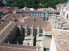 Catedral de Palencia desde la torre.
