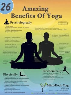 26 benefits of yoga... to name a few!