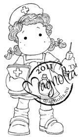 The Rubber Buggy  - Magnolia Stamps NURSE TILDA Rubber Stamp, $12.99 (http://www.therubberbuggy.com/magnolia-nurse-tilda-rubber-stamp/)