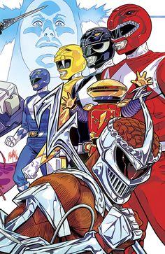 Mighty Morphin Power Rangers by Felipe Smith Power Rangers 2016, Go Go Power Rangers, Kamen Rider, Iphone 4s, Power Rengers, Green Ranger, Mighty Morphin Power Rangers, Comic Books Art, Anime