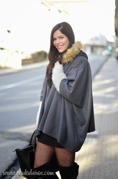 PAULA DEIROS SECRETS: Grey Cape & Skirt