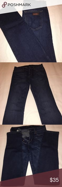 Joe jeans like new Very nice stretch confortable joe jeans. Size 26 can fit as size 27. Wore only once. Joe's Jeans Jeans Straight Leg