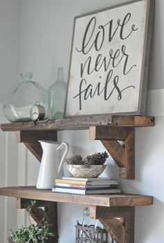 Love Never Fails by BetweenYouAndMeSigns on Etsy https://www.etsy.com/listing/218197665/love-never-fails