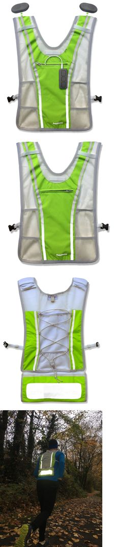 Safety and Reflective Gear 158951: Roadnoise Long Haul Running Cycling Vest. Speakers Below Not In Your Ears Xl Xxl -> BUY IT NOW ONLY: $90 on eBay!