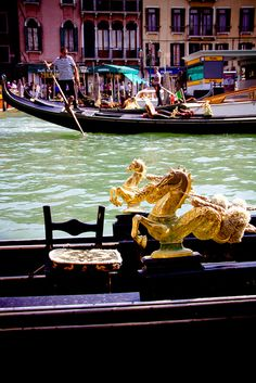 riding a gondola in Italy with Sea Horses would be perfect