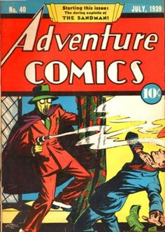 Adventure Comics #40 Sandman