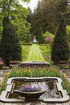 Los jardines de Villa Taranto, Verbania, Lago Maggiore, Piamonte, Italia, Europa