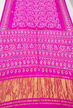 Embroidered Bandhani Saree  For more details call/whatsapp- 91-9377399299  #sankalpthebandhejshoppe #bandhej #bandhani #bandhanisaree #bandhejsaree #designersaree #handembroidery