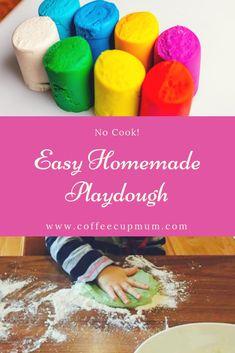 No cook easy Homemade playdough