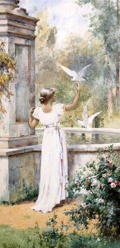 Alfred Glendening Jr. (1861 - 1907), English painter.