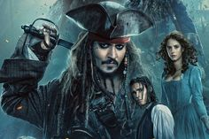 awesome New Pirates of the Caribbean: Dead Men Tell No Tales poster arrives