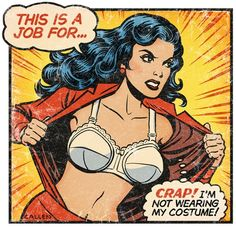 Wonder Woman's just having one of those days...