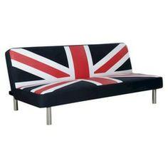 Studio Union Jack Sleeper Sofa - Navy/Red/White