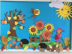 Fall Bulletin Boards, Back To School Bulletin Boards, Sunday School Crafts, Classroom Door, Board Ideas, Craft Ideas, Autumn, Decor, Decoration