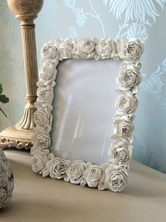 shabby chic rose pictures in frames - Google Search