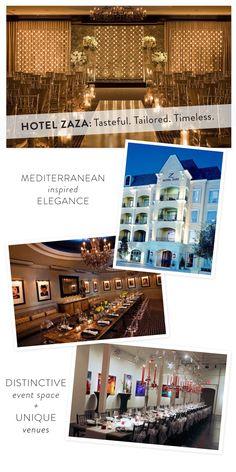 Hotel Zaza Dallas  Read more - http://www.stylemepretty.com/texas-weddings/2013/07/18/hotel-zaza/