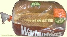Warburtons Wholemeal Bread (400g)