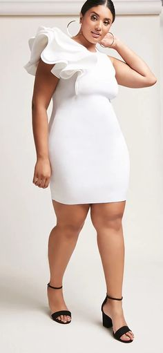 433 Best All White Party Images On Pinterest In 2018 Plus Size