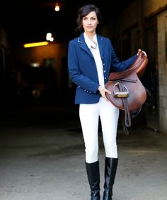Saddle up in O'Shaughnessey's Kileyann Performance Show Coat