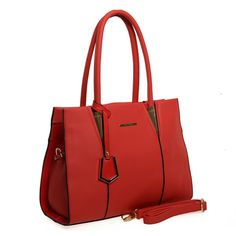 Red  -  Lady Style Candy Color Handbag Fashion Shoulder Bag £23.99