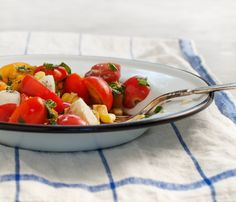 cherry tomato basil salad // loveandlemons.com