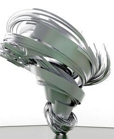 Super Twister II, 2013, de Alice Aycock, para Galerie Thomas Schulte