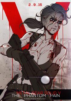 Phantom Pain Quiet by magion02.deviantart.com on @DeviantArt