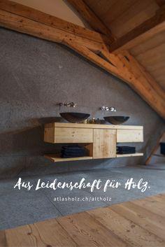 Badezimmer Verschmilzt Mit Dem Schlafzimmer   Fürstliche Maxi Dielen Altholz  Fichte/Tanne Farbton 004