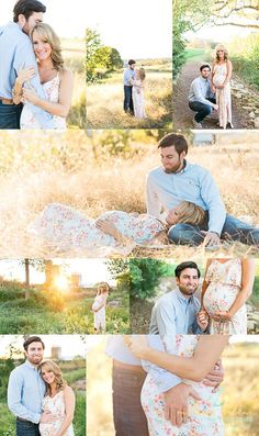 Gorgeous maternity session at sunset in a field! Taylor & Connor | Fredericksburg Va Maternity Photography | Melissa Arlena Photography Maternity posing, maternity photographer, virginia photographer: