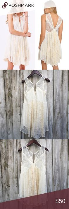 Free People Don't You Dare Dress Condition: NWT.   Lace dress   NO TRADES Free People Dresses