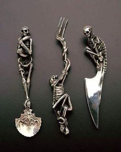 Decorated Cutlery