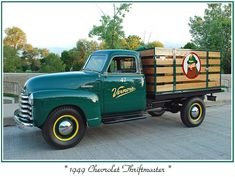 Vintage + Chevy + Truck