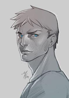 Superboy Sketch by R62