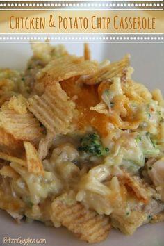 Chicken & Potato Chip Casserole
