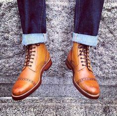 Grenson boots. Yummy