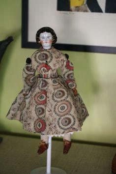 Mary Todd 1860s Antique China Doll