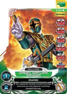 Henshin Grid: Guardians of Justice Power Rangers Action Card Game Cards So Far Power Rangers Ninja Storm, Power Rangers In Space, Power Rangers Samurai, Go Go Power Rangers, Mighty Morphin Power Rangers, Power Rangrs, Green Power Ranger, Card Games, Game Cards