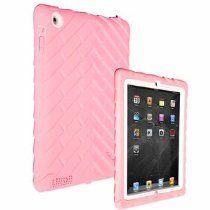 Gumdrop Case for iPad 2 [Pink/White]