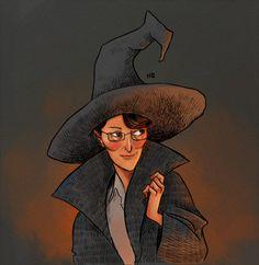 Minerva McGonagall by Natello's Art