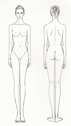 drawing tutorial woman body: