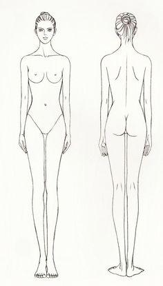 drawing tutorial woman body: