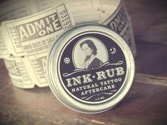 Ink Rub Natural Tattoo Aftercare by ScodioliCreative on Etsy