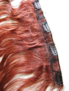 how to make clip in hair extension from a wig+DIY+Hair Tutorial+Costumes+Halloween wig - 12 by ...love Maegan, via Flickr