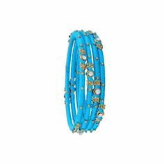 Shop online for designed colour string thread stone bangles, latest wedding collection bangles at best prices available at banglzz.com with COD.